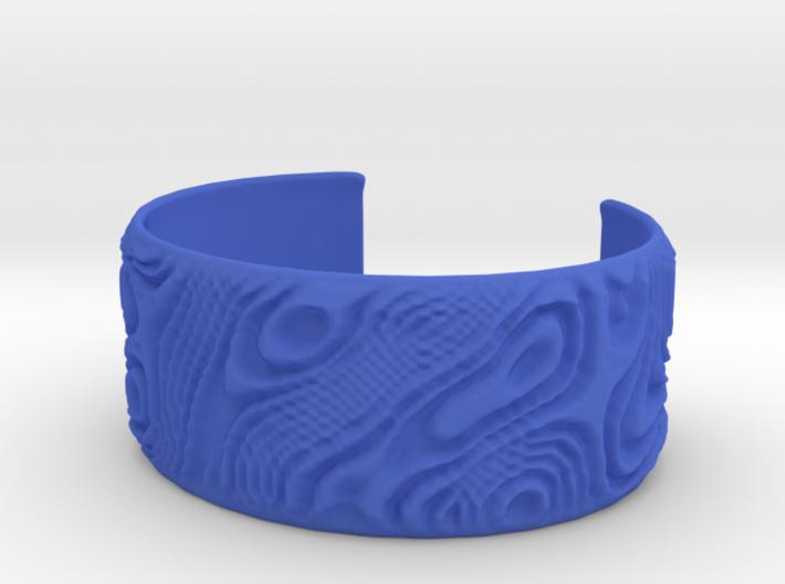 Wood Cuff 3d printed