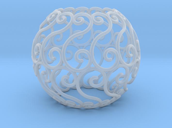 Celtic sphere (4,13) v1.2 3d printed