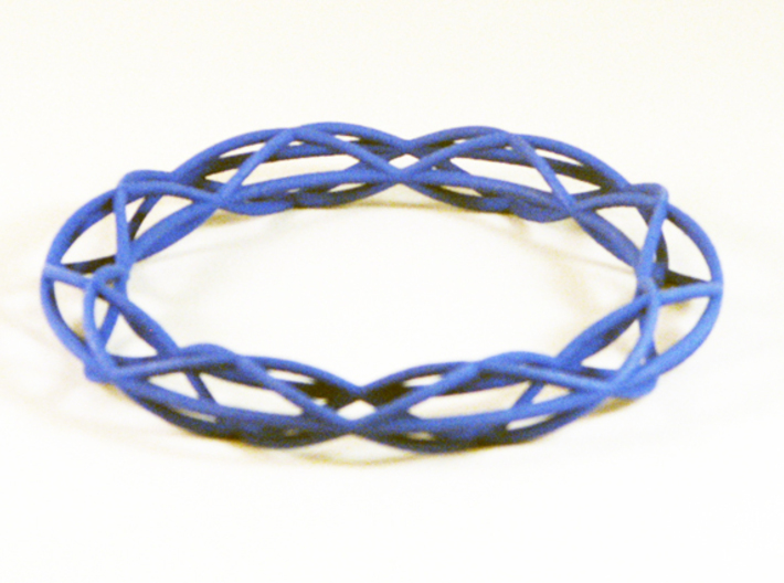 Twist Bangle A08M 3d printed