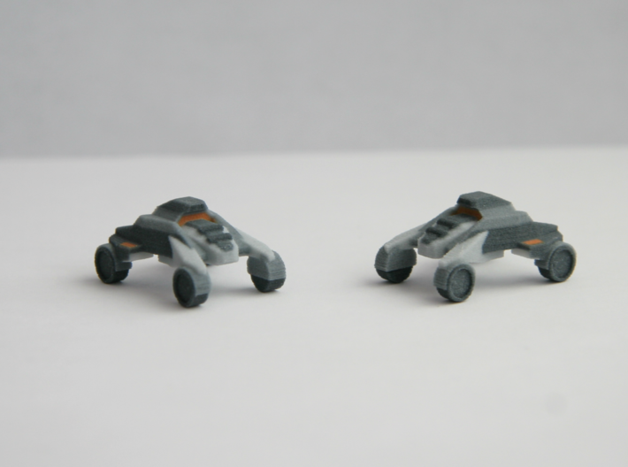 """""""Tavo"""" Buggy 10mm (Available in color!) 3d printed Product only comes with 1 vehicle."""