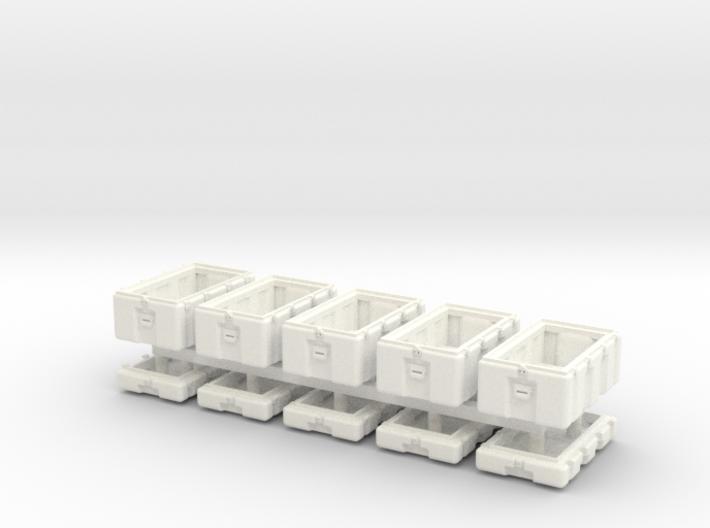 1-56 Military Storage Box Set 3d printed
