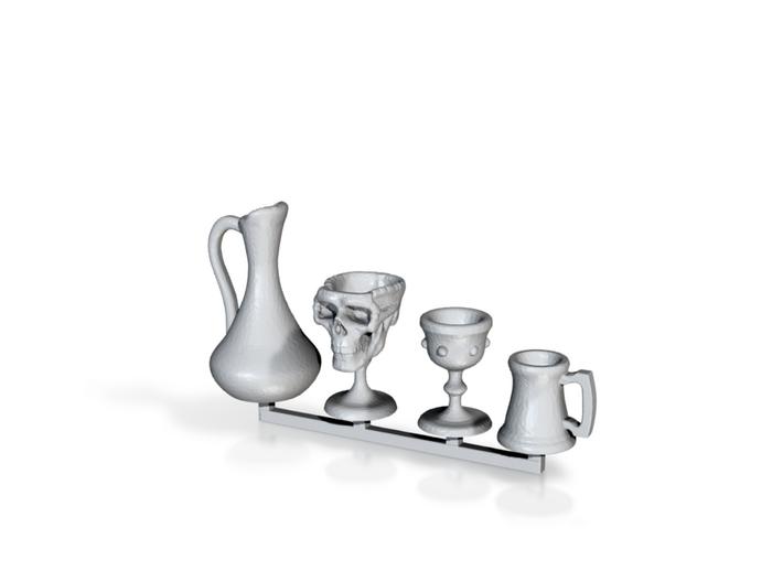 Drinkware -1:24 or Half Scale 3d printed