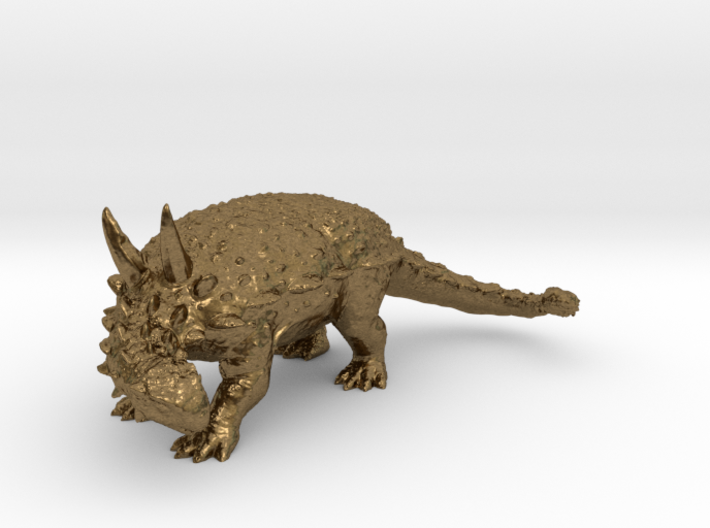 Ankylosaurus museum 3D scan data collectable 3d printed