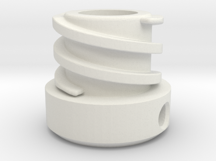 Helix-inside-spoed-8-two Groves 3d printed