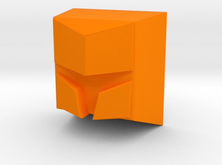 Knight helmet (Flat) 3d printed