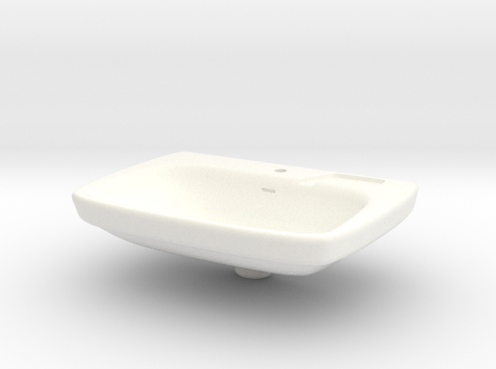 Miniature Bathroom Sink 1/12 3d printed