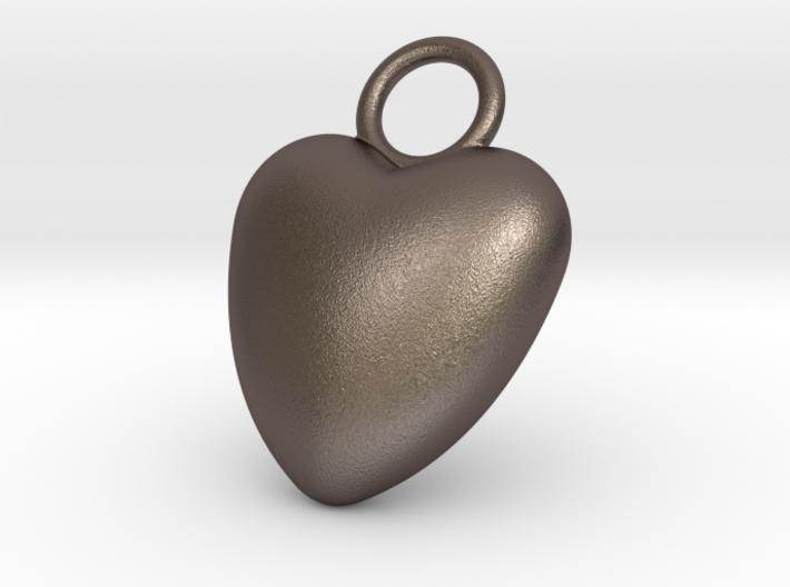 Heart Bottle Opener 3d printed