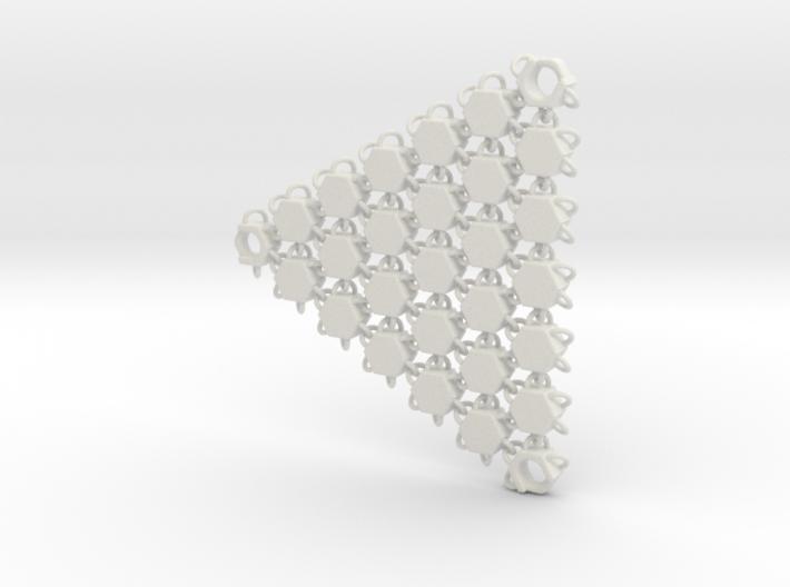 3D Fabric Test Sample 7 3d printed