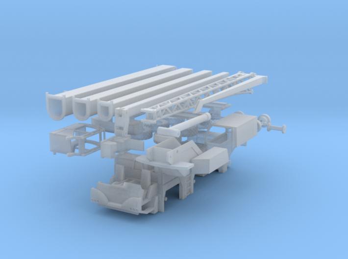 Liebherr LTM 1045 1:160 Kran Crane 3d printed