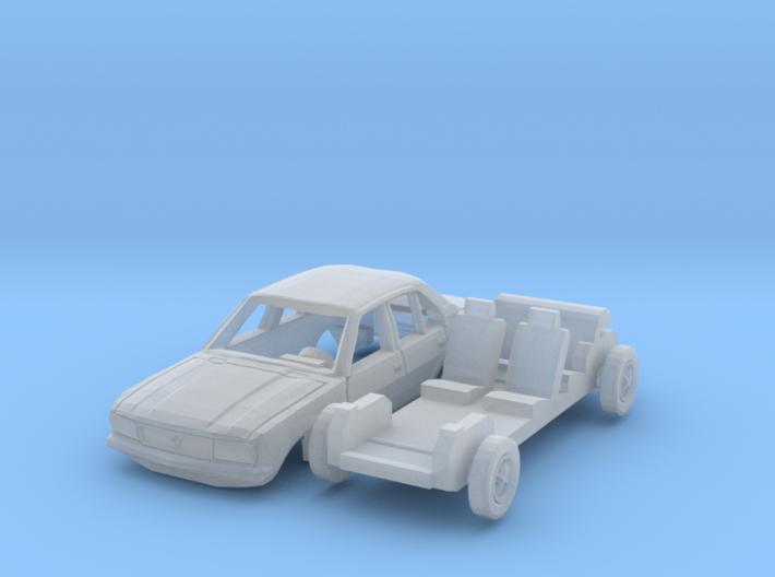 Opel Ascona 4-Türer (TT 1:120) 3d printed