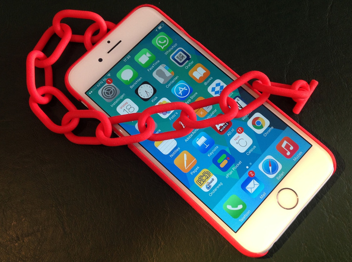 Customize your IPhone 6 3d printed Feel free to put in your own name and/or logo