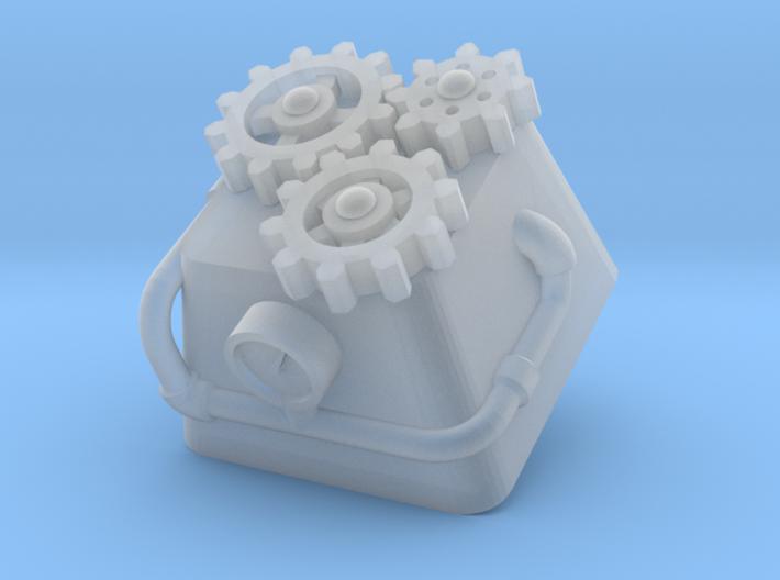 Steampunk Cherry MX Keycap 3d printed