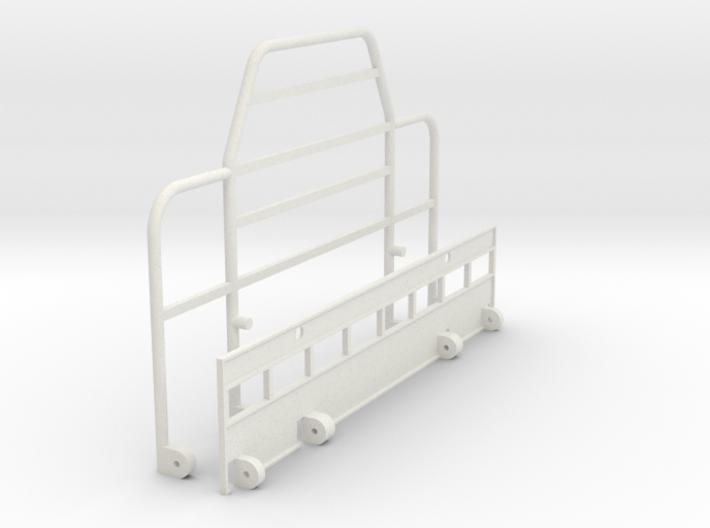 Rubber-Duck-Bull-Bar-Hinged 3d printed