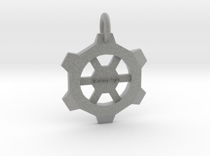 Small Gear Pendant 3d printed