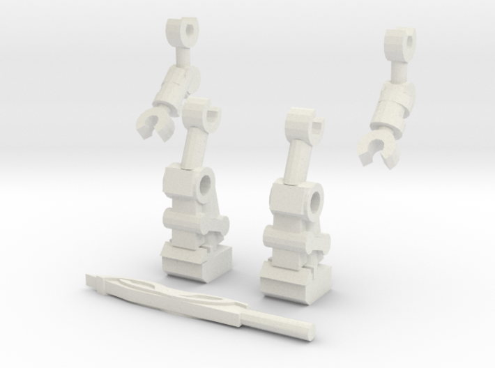 Mata Legs and Arms 2 3d printed