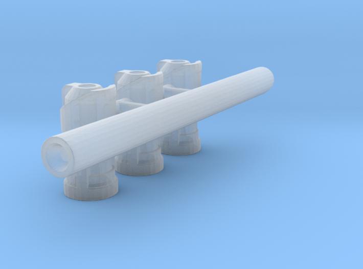 TF4: AOE Bounty Hunter kit transparent parts 3d printed