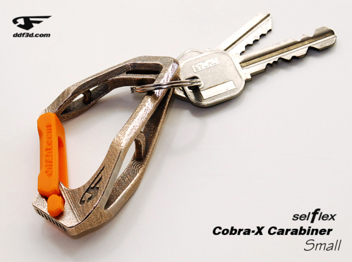 Cobra X Carabiner *Small* DH006SW 3d printed