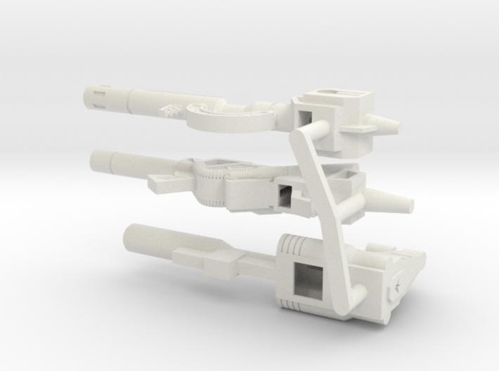 TW Dinobot Guns Set M 3d printed