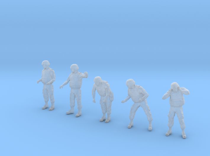 1-35 US Arty Crew Hot Weather Set5 3d printed