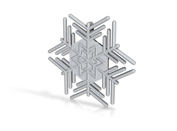 Snowflakes Series III: No. 4 3d printed