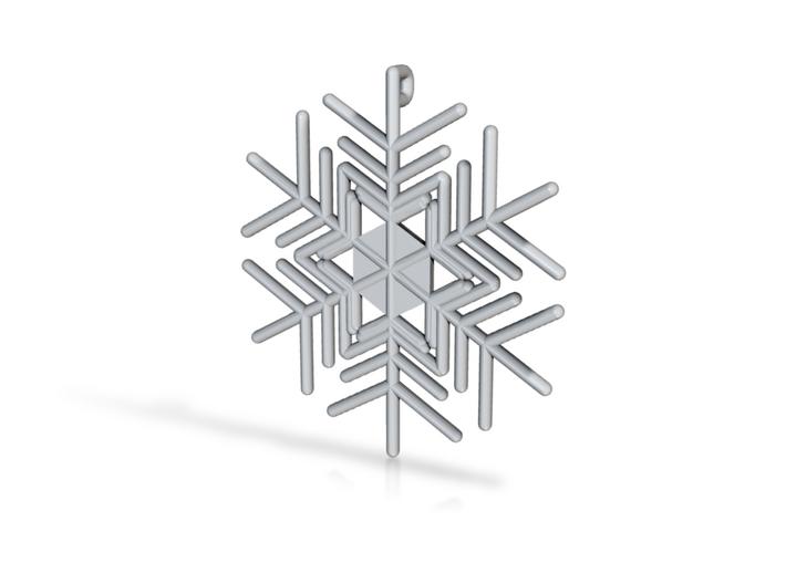 Snowflakes Series III: No. 6 3d printed