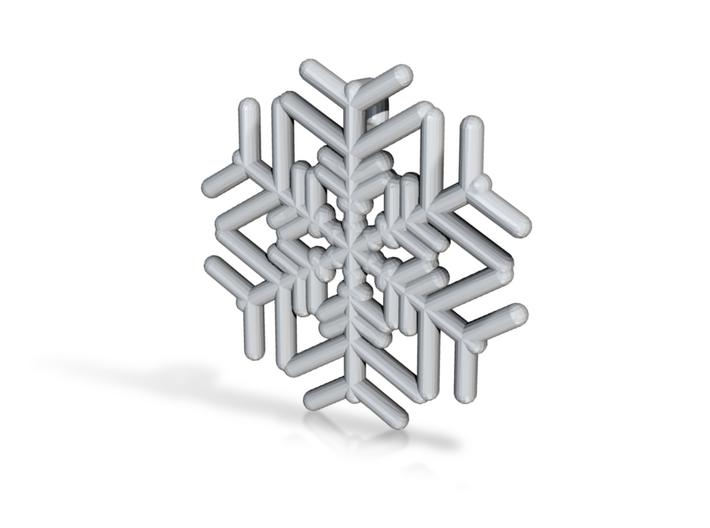 Snowflakes Series III: No. 13 3d printed