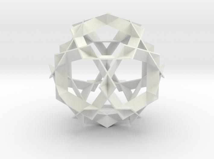 Asterisk Ball - 9.6 cm 3d printed