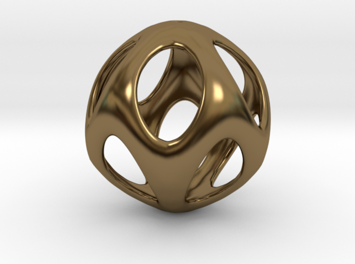 Iron Rhino - Iso Sphere 2 - Basic Pendant 3d printed