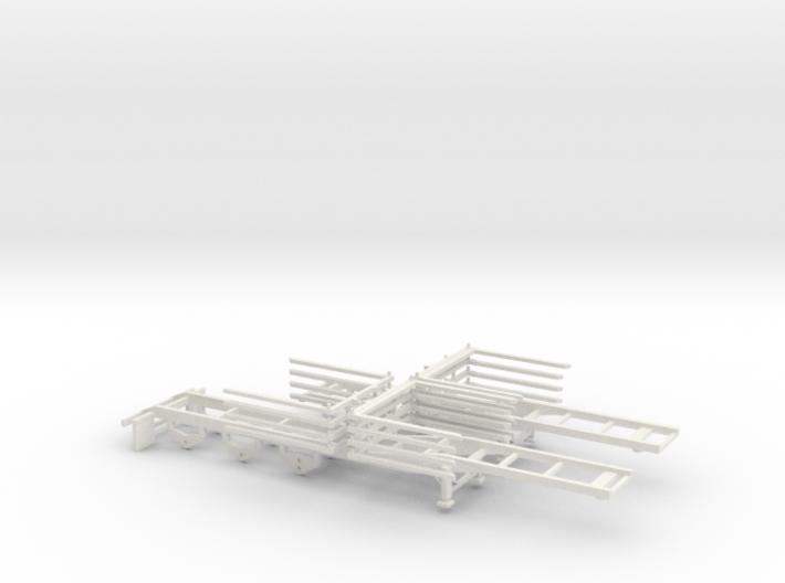 000103 Wood Logger USA B Double HO 1:87 3d printed