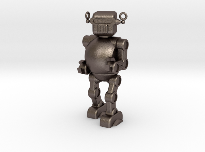 Retro 50's Toy Robot 3d printed