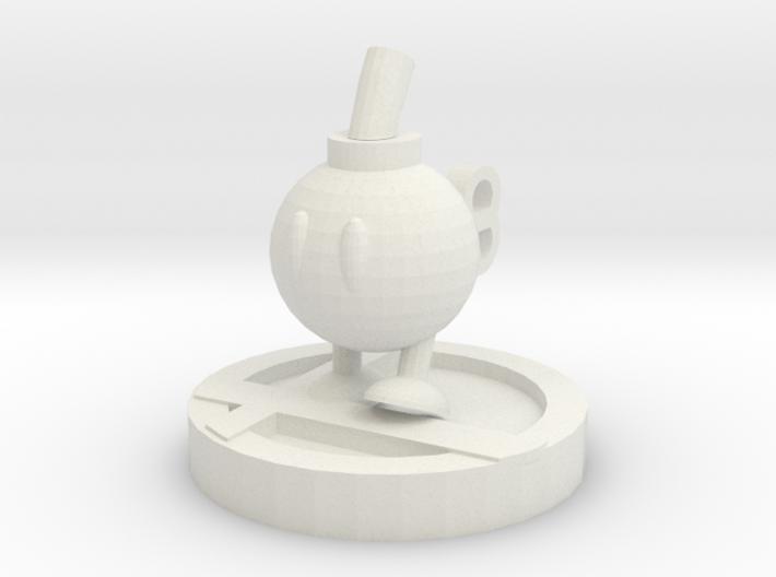 Bob-omb Trophy 3d printed