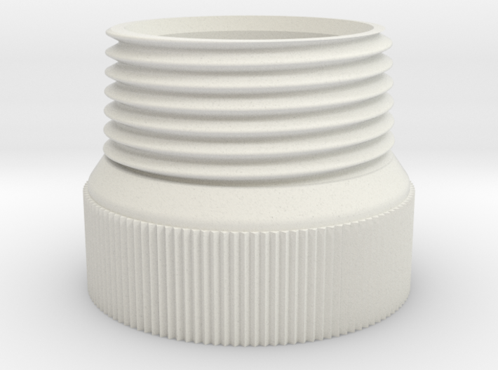 DN20 BSP Male Thread to PET Bottle Cap 118 O Ring 3d printed