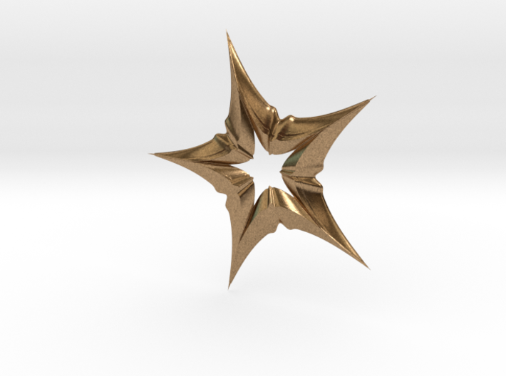 Star In A Star Distortion 3d printed