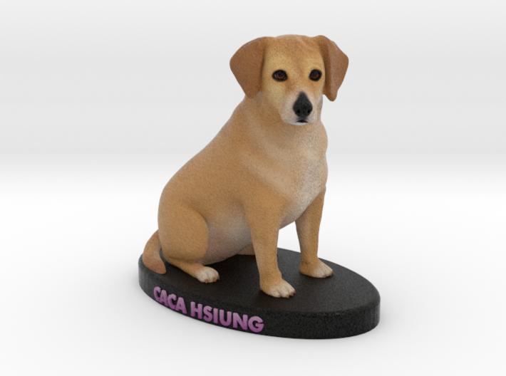 Custom Dog Figurine - Caca 3d printed