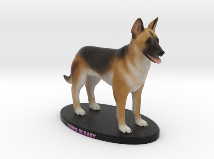 Custom Dog Figurine - Gang Bi 3d printed