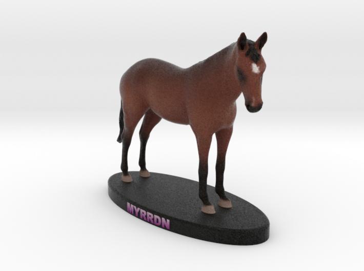 Custom Horse Figurine - Myrrdn 3d printed