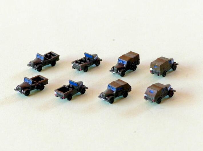 Russian GAZ 69 Jeep 1/285 6mm 3d printed