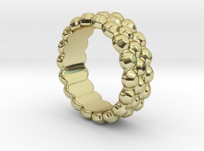 Chocolat Ring 29 - Italian Size 29 3d printed