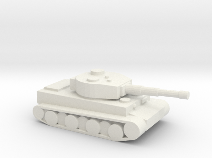 Tiger tank 3d printed