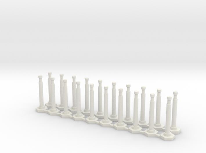 "48"" Delineator ""Grabber"" Cones 20 Pack 3d printed"
