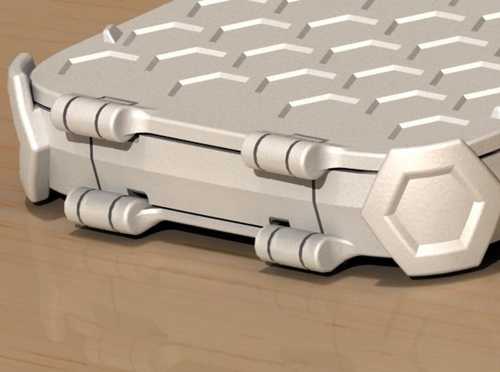 Samsung Galaxy S4 active - i9295 - limp flip case 3d printed Hinge detail