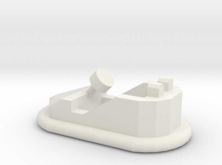 HO Scale Bumper Car 3d printed