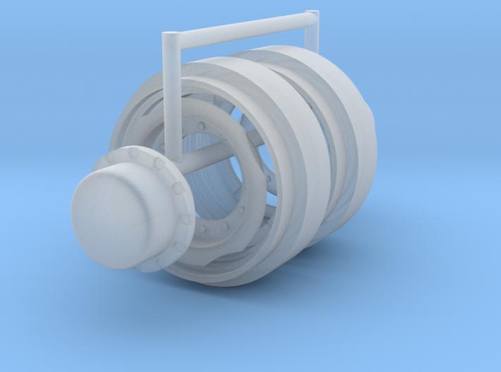 1/64 30in FWA Rims 3d printed