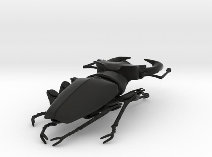 Articulated Stag Beetle (Lucanus cervus) 3d printed