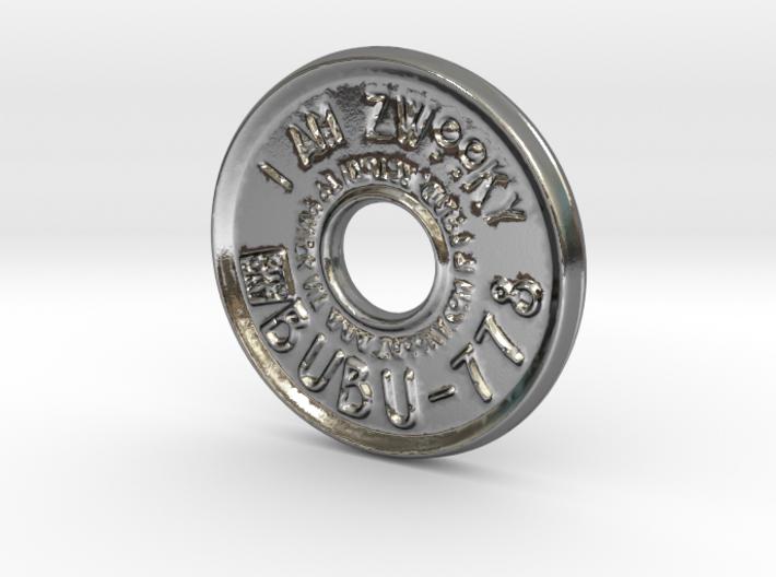 ZWOOKY Style 42 Sample - pendant donut - BUBU-778 3d printed