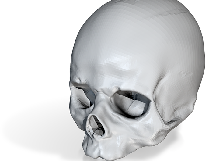 Skull Drink Cooler 3d printed