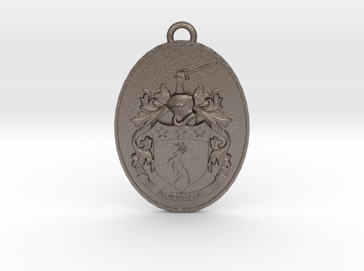 Coat of Arms Pendant Irish Family Crest Doherty  3d printed