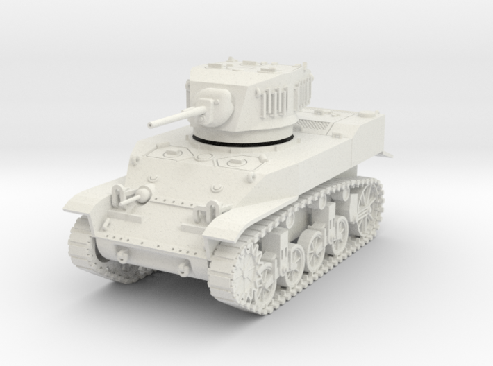 PV91A M5A1 Light Tank (28mm) 3d printed