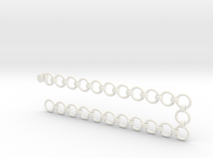 2x10 mm Chain with Coupler 3d printed