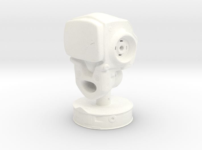RobotHead 3d printed
